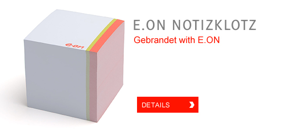 E.ON Notizklotz